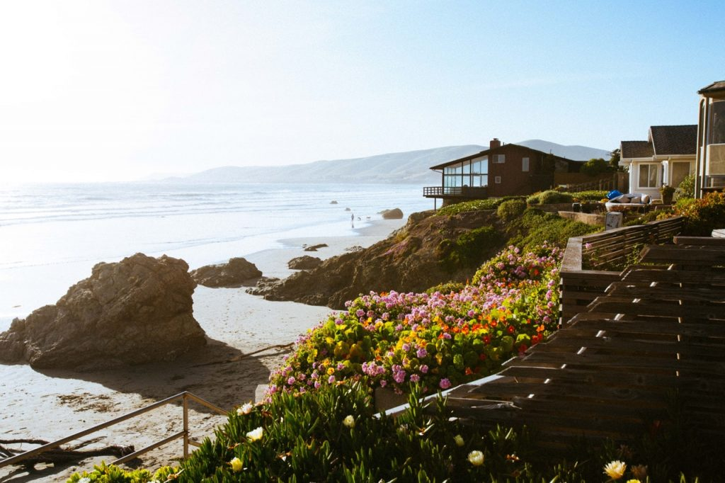 coastal front home